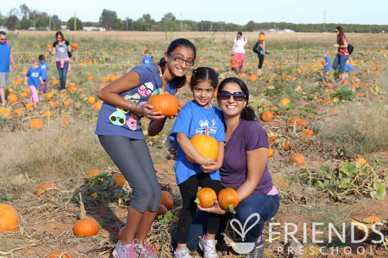 Annual pumpkin patch fieldtrip